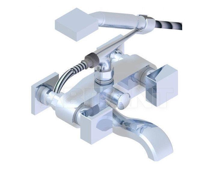 Купить Смеситель для ванны THG Bathroom G79.13B Cubica