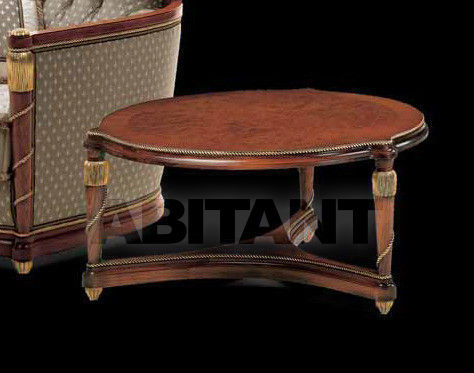 Купить Столик журнальный GALILEO Isacco Agostoni Contemporary 1006 ROUND CENTRAL TABLE