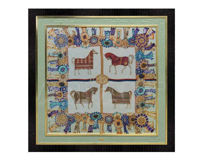 Купить Картина Formitalia Living Rooms Silk panels 4 horses