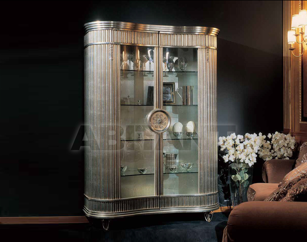 Купить Витрина CRYSTAL Isacco Agostoni Contemporary 1259 2-DOOR GLASS CABINET