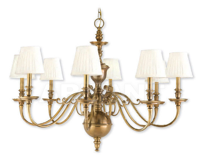 Купить Люстра Hudson Valley Lighting Standard 1748-AGB