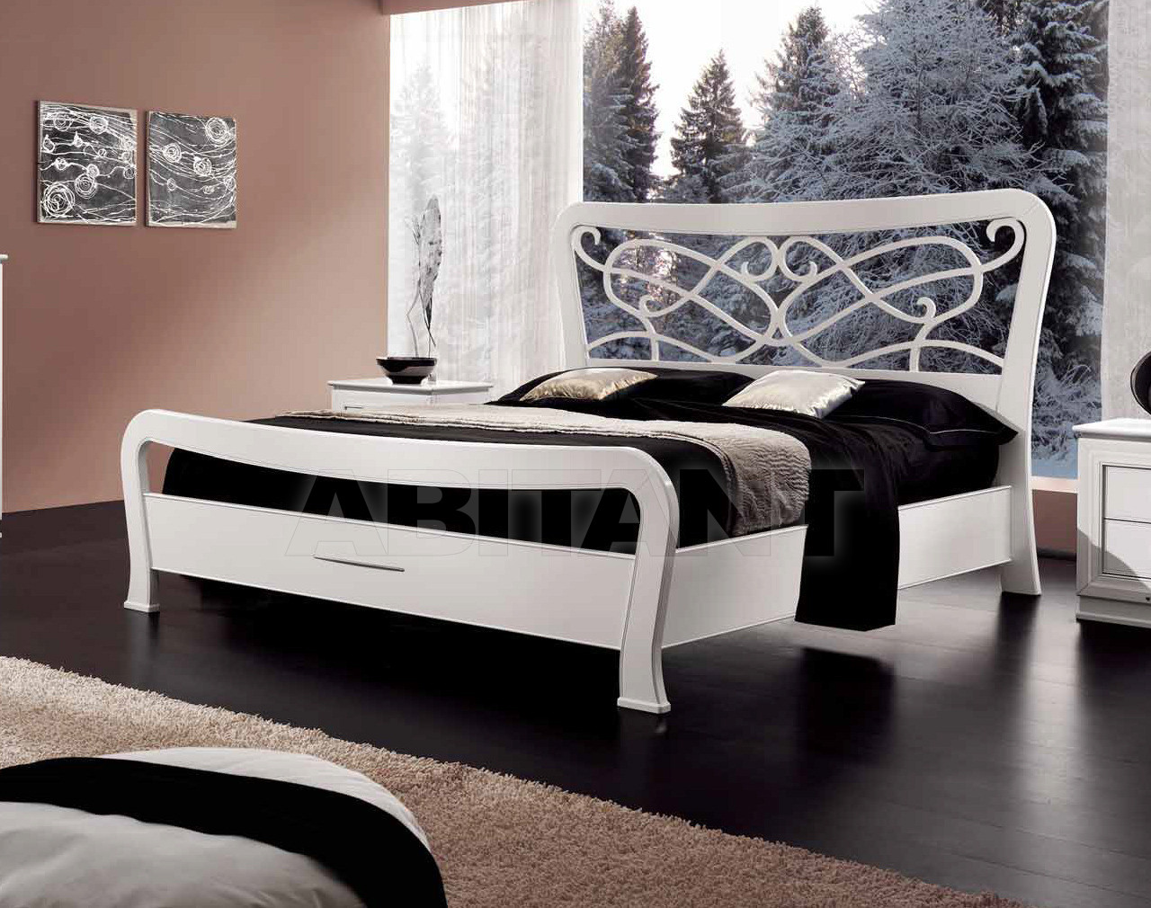 Купить Кровать Metamorfosi Sogni Moderni 2113/P