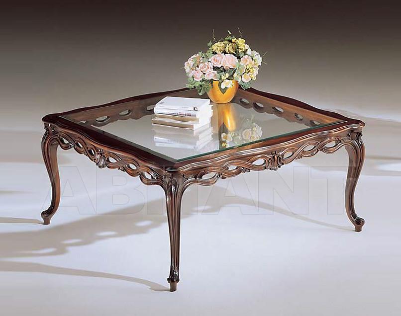 Купить Столик кофейный Sanvito Angelo Bianco 3110 TAVOLINO piano cristallo