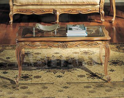Купить Столик кофейный Sanvito Angelo Bianco 3110 TAVOLINO piano cristallo 2
