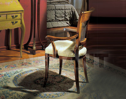 Купить Стул с подлокотниками Sanvito Angelo Bianco 3255 POLTRONCINA