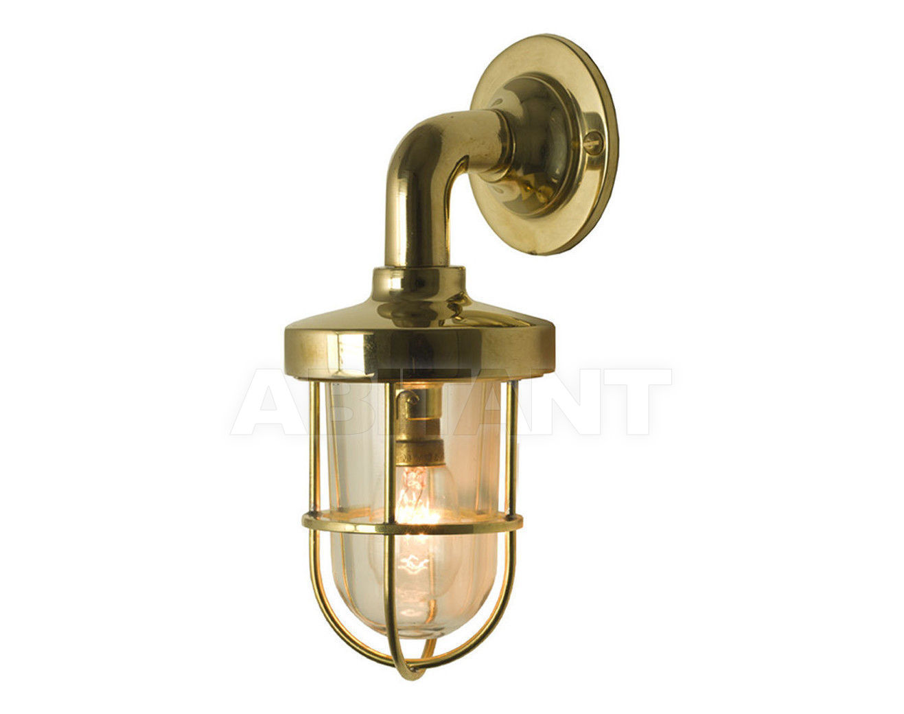 Купить Фонарь Davey Lighting Wall Mounted Lights 7207/BR/M/CL