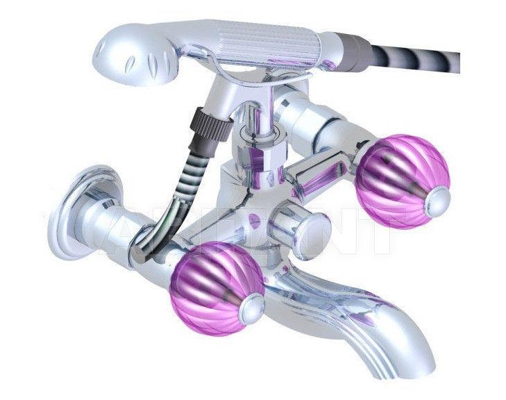 Купить Смеситель для ванны THG Bathroom U1F.13B Mandarine cristal rosalin