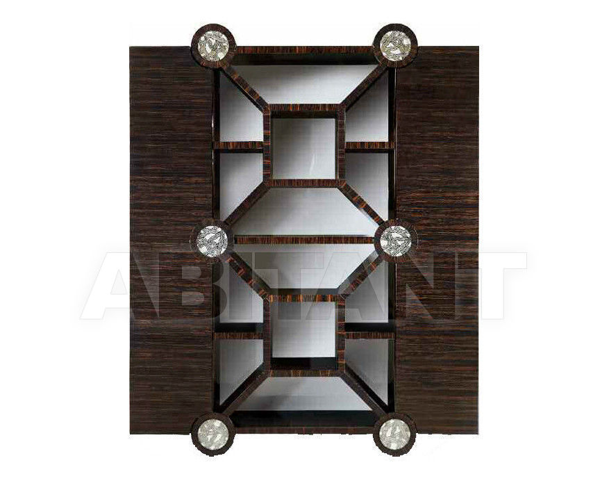 Купить Шкаф книжный QUADRATO Isacco Agostoni Contemporary 1294 BOOKCASE WITH 2 DOORS