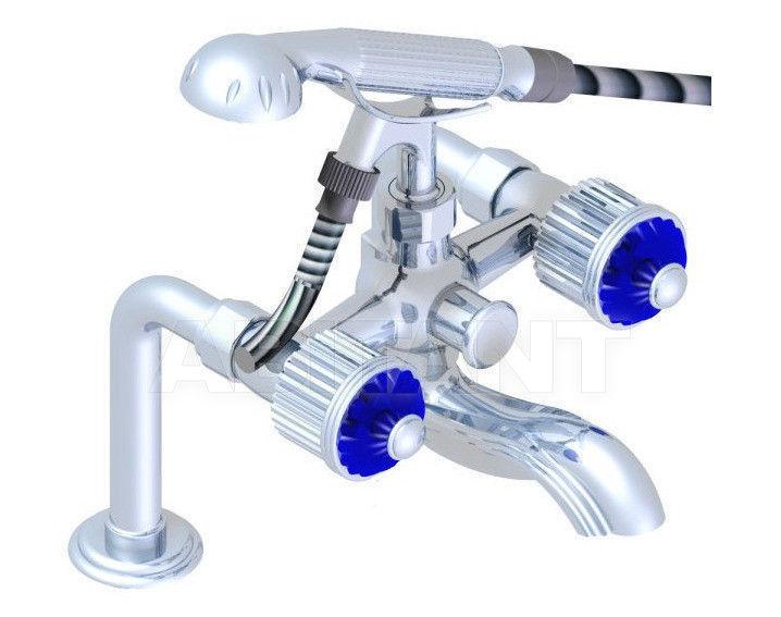 Купить Смеситель для ванны THG Bathroom U1Q.13G Nizua cristal sapphire