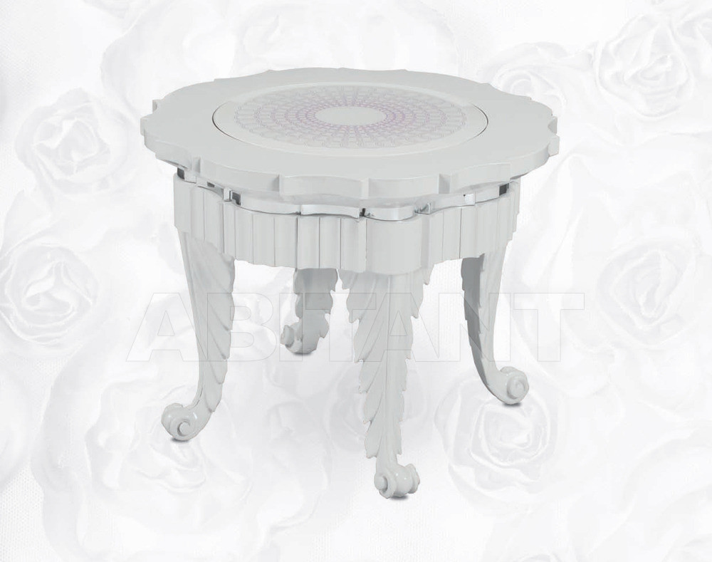 Купить Столик кофейный Isacco Agostoni Contemporary 1349 SMALL ROUND SIDE TABLE lacquered top