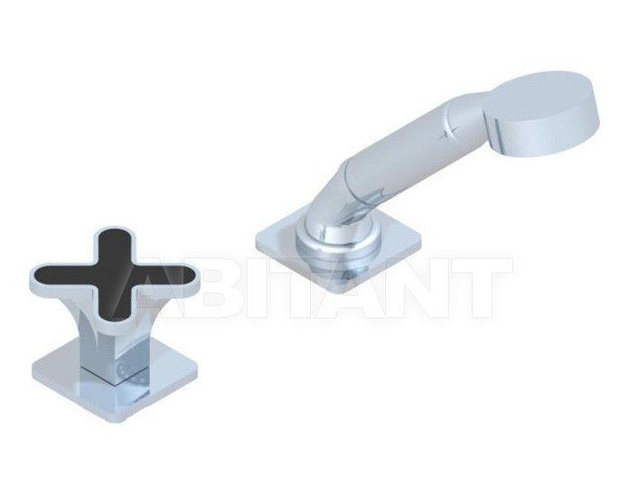Купить Смеситель для ванны THG Bathroom A6N.6532/60A Profil black Onyx