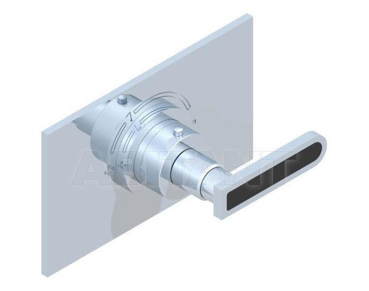 Купить Смеситель термостатический THG Bathroom A6P.5100B Profil black Onyx with lever