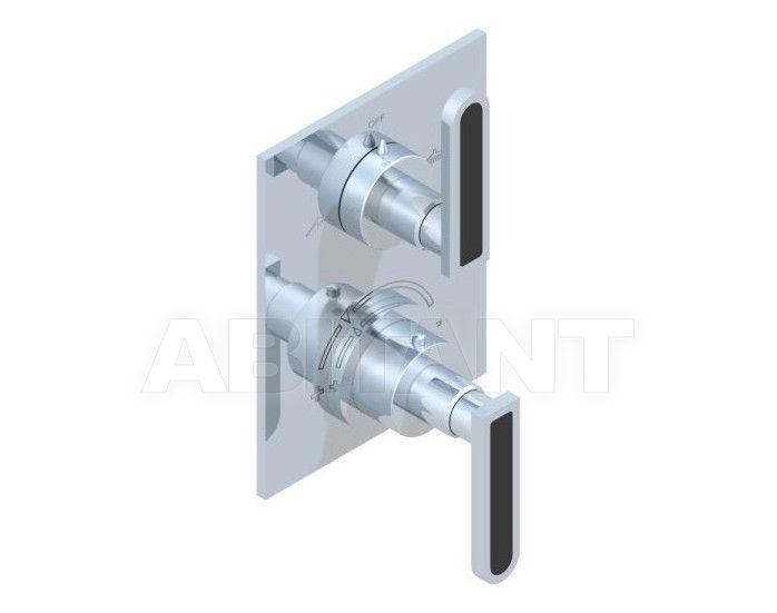 Купить Смеситель термостатический THG Bathroom A6P.5500B Profil black Onyx with lever