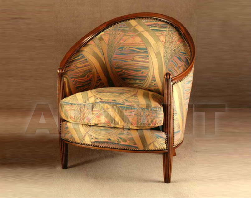 Купить Кресло P. & G. Cugini Lanzani Art Deco 9271