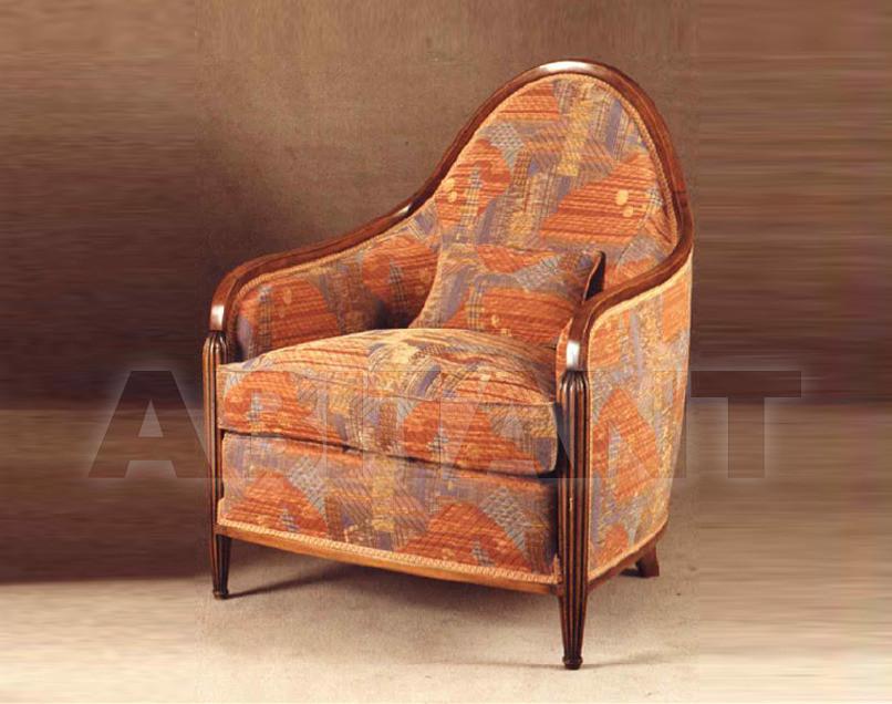 Купить Кресло P. & G. Cugini Lanzani Art Deco 9305