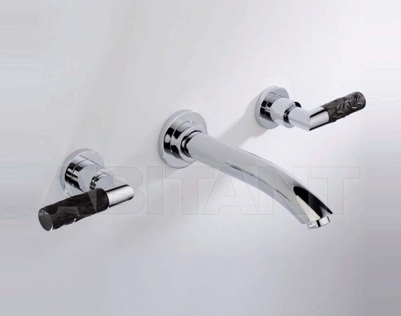 Купить Смеситель для раковины THG Bathroom A33.20GA Bambou black crystal