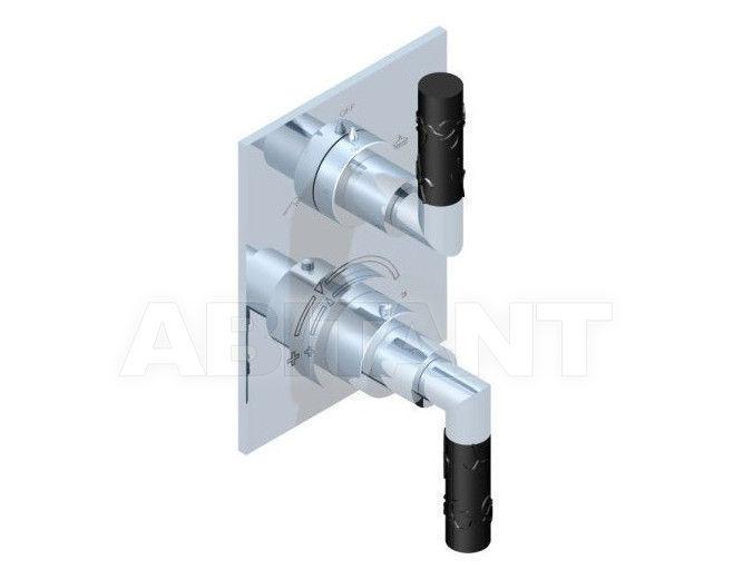 Купить Смеситель термостатический THG Bathroom A33.5500B Bambou black crystal