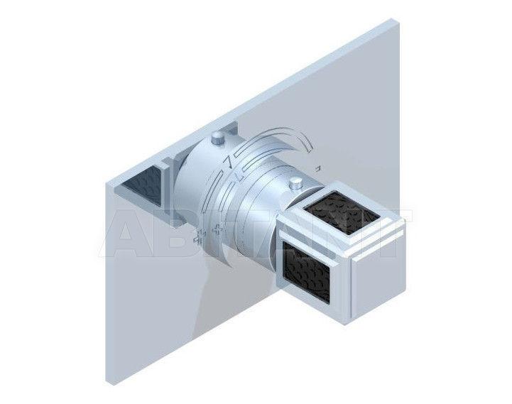 Купить Смеситель термостатический THG Bathroom A2L.5100B Métropolis black crystal