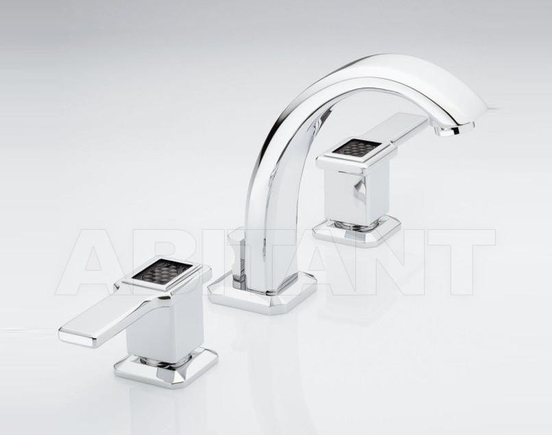 Купить Смеситель для раковины THG Bathroom A2M.151 Metropolis black crystal with lever