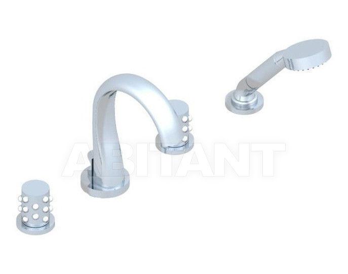 Купить Смеситель для ванны THG Bathroom A2N.112B Mossi clear crystal
