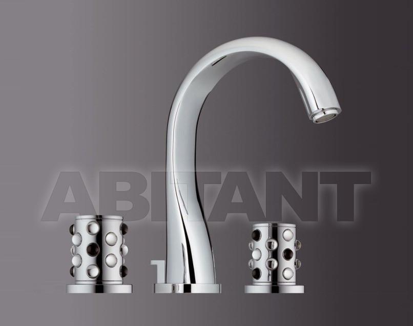Купить Смеситель для раковины THG Bathroom A2W.151M Mossi clear crystal & black onyx