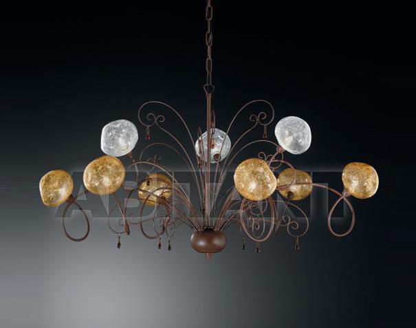 Купить Люстра IDL Export Classic Light & Style 358/6+3 AMBER