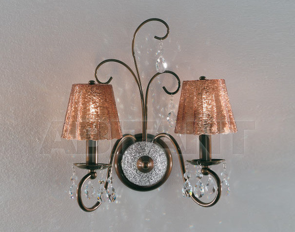 Купить Бра IDL Export Classic Light & Style 301/2A BROWN