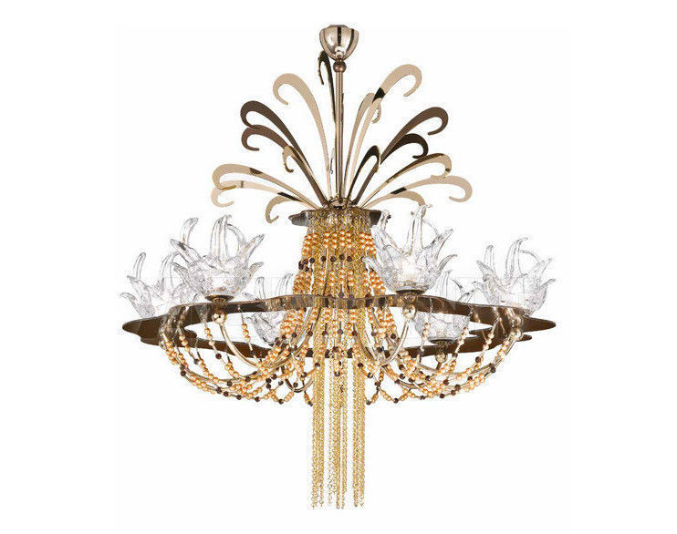 Купить Люстра IDL Export Dolce Vita Luxury Lighting 450/6+1 Golden Chocolate