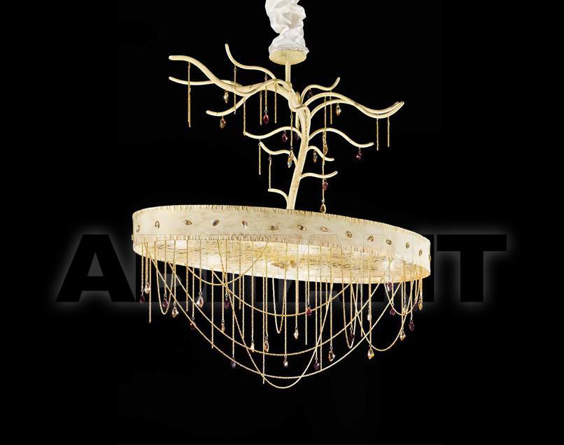 Купить Люстра IDL Export Dolce Vita Luxury Lighting 443/8 Ivory Gold Laquered