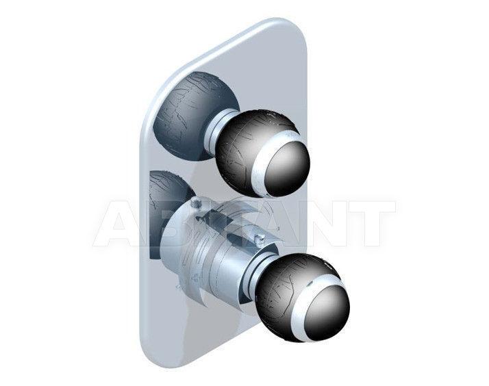 Купить Смеситель термостатический THG Bathroom A2K.5300B Panthère black crystal