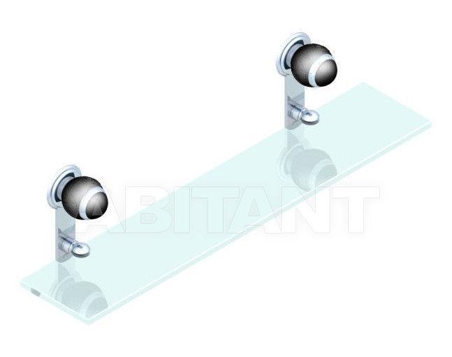 Купить Полка THG Bathroom A2K.564 Panthère black crystal