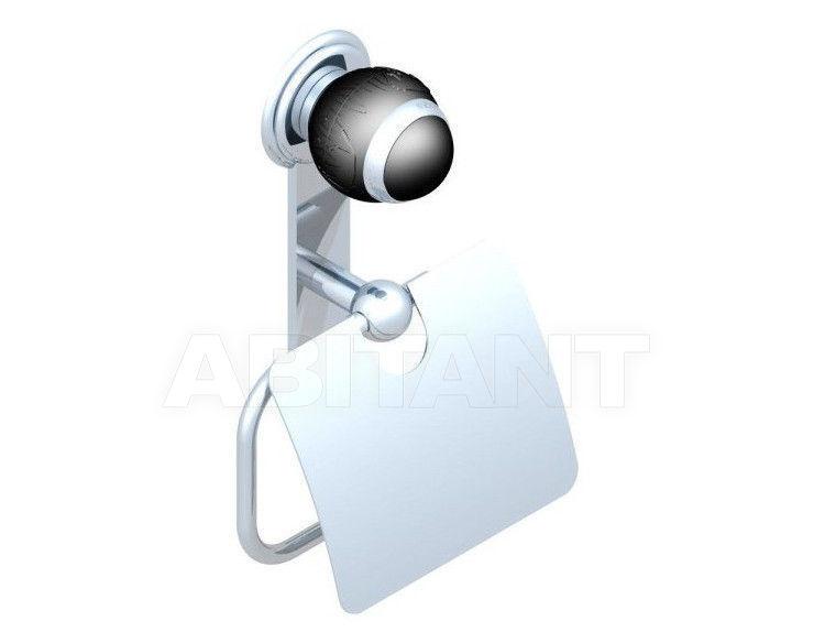 Купить Держатель для туалетной бумаги THG Bathroom A2K.538AC Panthère black crystal