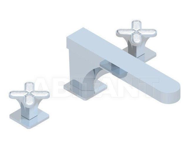 Купить Смеситель для раковины THG Bathroom A6G.25SG Profil Lalique clear crystal