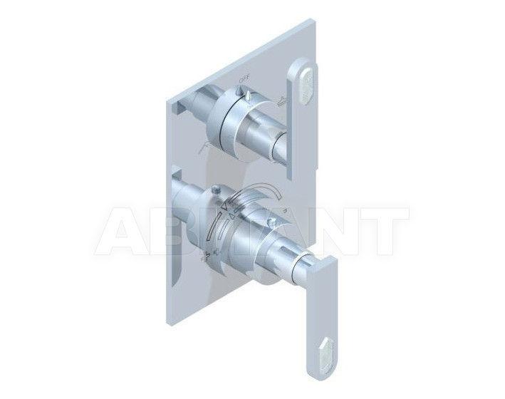 Купить Смеситель термостатический THG Bathroom A6H.5500B Profil Lalique clear crystal with lever