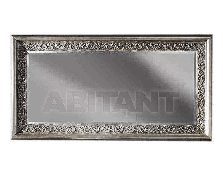 Купить Зеркало настенное GIULIACASA By Vaccari International Gli Specchi Di Alice 1 0 6 0 argento