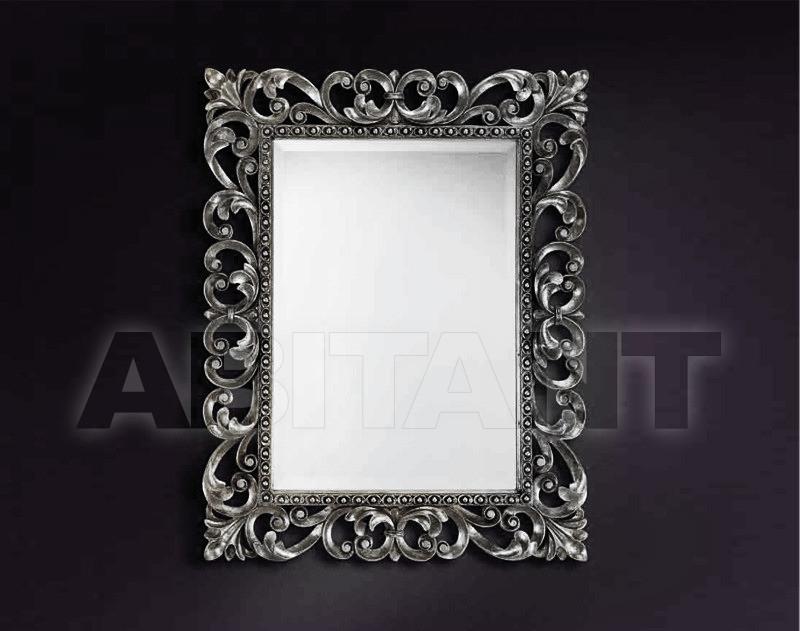 Купить Зеркало настенное Vaccari International Gli Specchi Di Alice 1 2 4 0 argento