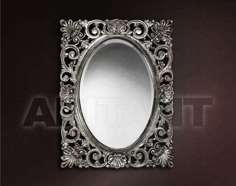 Купить Зеркало настенное Vaccari International Gli Specchi Di Alice 1 2 7 0 argento