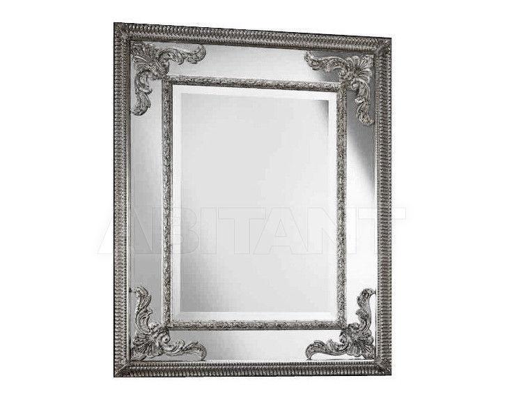 Купить Зеркало настенное Vaccari International Gli Specchi Di Alice 1 3 3 1 argento