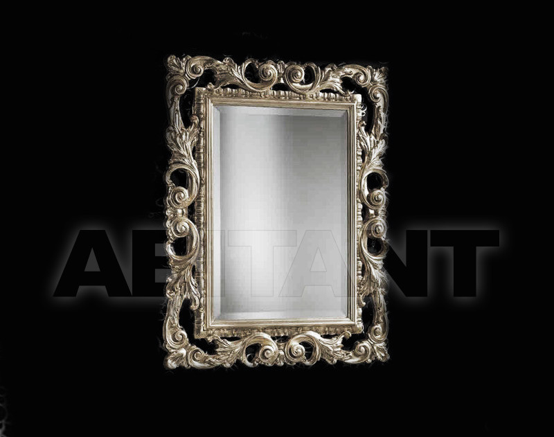 Купить Зеркало настенное Vaccari International Gli Specchi Di Alice 1 3 8 0 argento