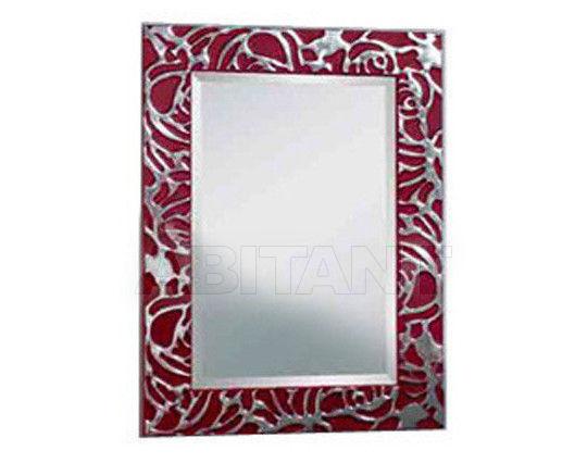 Купить Зеркало настенное Vaccari International Gli Specchi Di Alice 1 7 2 2 red