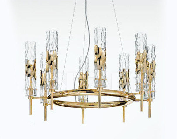 Купить Люстра IDL Export Luce Da Vivere Living Lighting 497/8 Oro