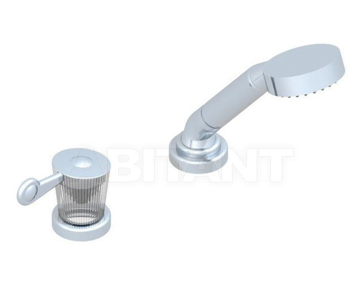 Купить Смеситель для ванны THG Bathroom U3D.6532/60A Bagatelle cristal with lever