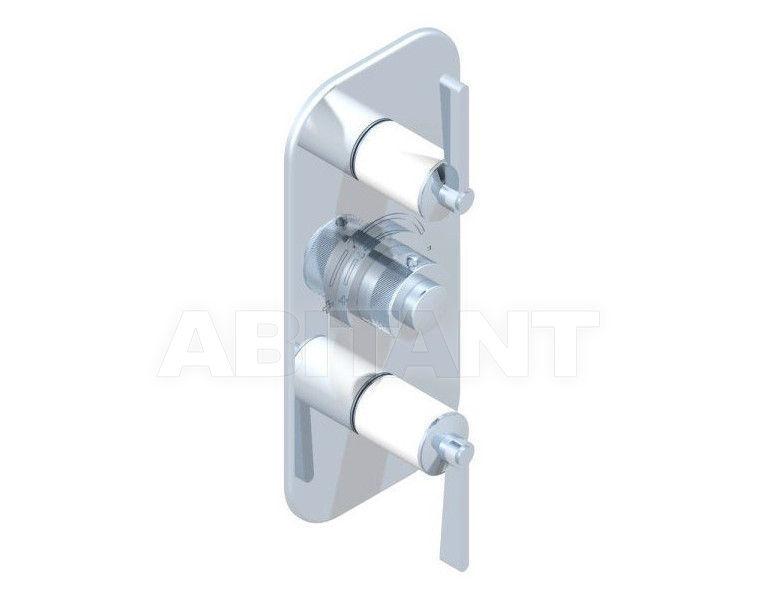 Купить Смеситель термостатический THG Bathroom G2J.5400B Faubourg white porcelain with lever