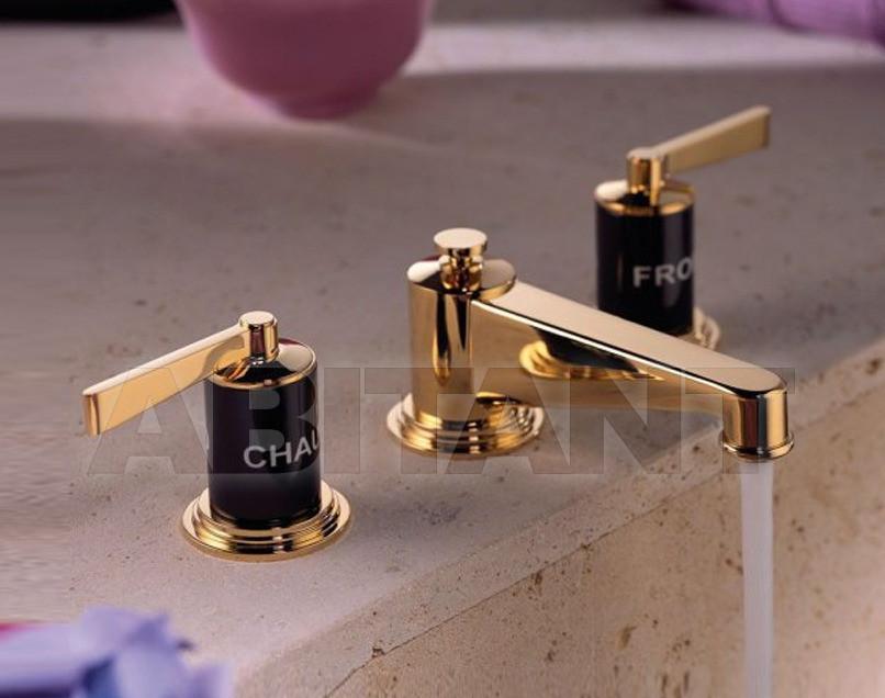 Купить Смеситель для раковины THG Bathroom G2M.151 Faubourg black porcelain with lever