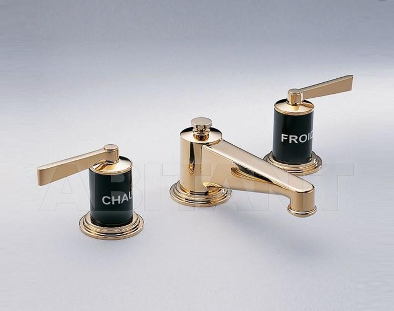 Купить Смеситель для раковины THG Bathroom G2M.151M Faubourg black porcelain with lever