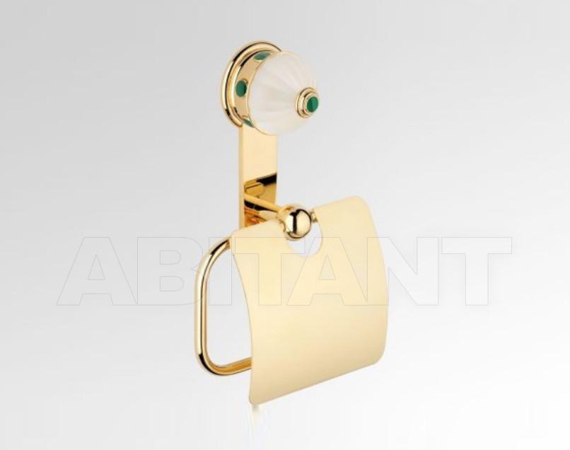 Купить Держатель для туалетной бумаги THG Bathroom A1S.538AC Cheverny Malachite