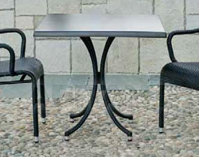 Купить Стол для террасы Frigerio Carlo Funny Wicker TWFQ70