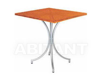 Купить Стол для террасы Frigerio Carlo Funny Wicker TTQ80 2