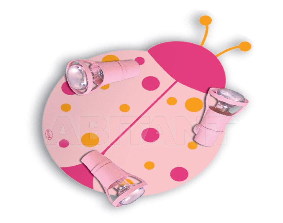 Купить Светильник для детской  Waldi Leuchten Lampen Fur Kinder 2012 65284.0 rosa