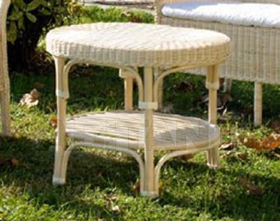 Купить Столик журнальный Frigerio Carlo Funny Wicker ALFA oval table
